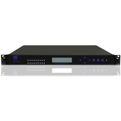 SMP316-01 IP-QAM модулятор с ASI и IP входом и 16 незавсимыми частотами